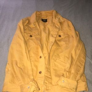 Gold jean jacket